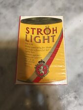 "Stardust Plastic Coated ""Stroh's Beer� Playing Cards-Sealed"