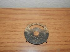Vintage Sunrise Sunset High Noon Midnight Sundial Replacement Part