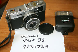 Vintage Olympus Trip 35 Camera, Classic Compact 35mm Camera - Working, FUNGUS