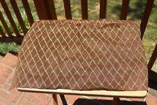 Vintage Brown Diamond Vox Amplifier Head Grill Cloth