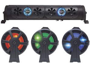 """24"""" Bluetooth Party Bar Off Road Sound Bar LED Single Sided Bazooka BPB24-G2"""
