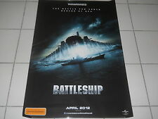 BATTLESHIP  2012 HORROR HASBRO TRANSFORMERS MINT DS OS TEASER CINEMA POSTER  # 2