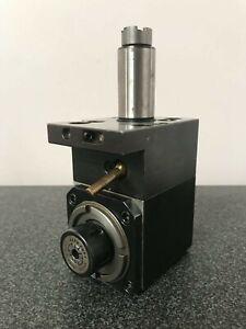 VDI 30 ER20 Radial Live Tool Holder 90° Degree Angle