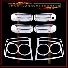 For DODGE Charger 2009 2010 Chrome Covers Set 4 Doors Without PK + 2 Tail Lights