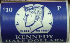 2003 P 50C Kennedy Half Dollar 20 Coin Original Mint Roll Uncirculated