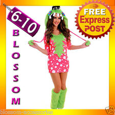 J49 Kigurumi Melody Monster Animal Halloween Hens Costume Fancy Dress Up Outfit