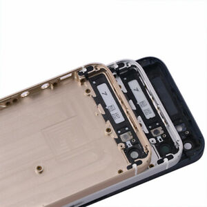 For iPhone 5 5S SE Battery Back Cover Housing Door Rear Cover Middle Frame New