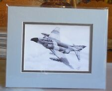 "Robin Olds' F-4C Phantom II ""Scat XXVII"" 8X10 Matted Print by Willie Jones Jr"