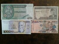 WORLD PAPER MONEY 2010 SIERRA LEONE 2000 LEONES + 3 *BANK NOTES* Collectibles