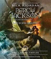 The Last Olympian by Rick Riordan (CD-Audio, 2009)