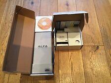 Alfa WiFi Booster Kit - Directional Antenna & Router for Motorhomes & Caravans