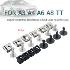 Engine Undertray Underbody Shield Clips & Fasteners Kit For Audi A3 A4 A6 A8 TT