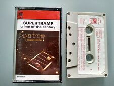 SUPERTRAMP - CRIME OF THE CENTURY - RARE PORTUGAL IMPORT CASSETTE TAPE [DREAMER]