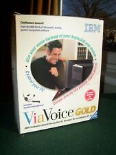 ViaVoice Gold for Windows 95 and Windows NT 4.0 (used but complete) UK English