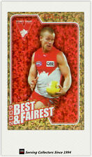 2010 AFL Herald Sun Trading Cards Best & Fairest BF14 Ryan O'keefe (Sydney)