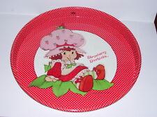 Vintage 1980's Strawberry Shortcake Metal Serving Tray