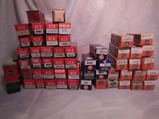 Radio Vacuum Electron Tubes lot of 55 Vintage RCA GE all boxed NOS Untested