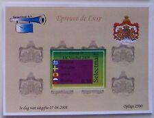 Stadspost Lelystad - Epreuve de Luxe EK voetbal (Football) 2008 Groep D (2)