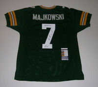 PACKERS Don Majkowski signed STAT jersey w/ MAJIK & PHOF JSA COA AUTO Autograph