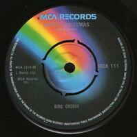 "BING CROSBY white christmas/god rest ye merry gentlemen MCA 111 7"" WS EX/"