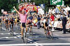 LAURENT FIGNON GIRO D'ITALIA 1989 VICTORY POSTER MAGLIA ROSA