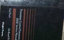 2002 Ford Mustang Gt Cobra Mach Service Shop Repair Manual Set W PCED & EWD 4 bk