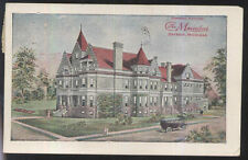 Postcard DETROIT Michigan/MI  Maccabees General Office & Dues Notice Card 1916
