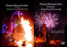 Disneyland Nighttime Shows Plus HalloweenTime At Disneyland - 3 DVD Package
