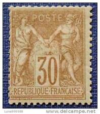 FRANCE timbre-stamp-sage type I-yt n°69 n**-(dent courte point rouille)1876/1878