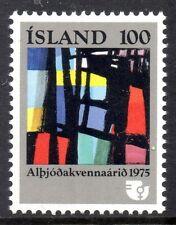Iceland 1975 International women's year Mi. 510 MNH