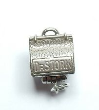 Vintage 925 Sterling Silver DOCTOR STORK BAG OPENS TO BABY Charm 2.6g