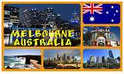 MELBOURNE, AUSTRALIA - NEGOZIO DI SOUVENIR GRANDE CALAMITA DA FRIGO