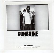 (GU684) Sunshine, Moonshower And Razorblades - 2004 DJ CD