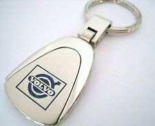 VOLVO  KEY CHAIN RING FOB S40 S60 S80 V60 XC60 XC70 T5 T6 2014 2015 CHROME NEW
