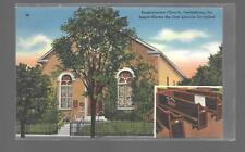 PRESBYTERIAN CHURCH,GETTYSBURG,PENNSYLVANIA-ABRAHAM LINCOLNS PEW-UNUSED LINEN NM