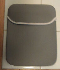 "10"" Neoprene Sleeve Case,Gray, Water Resistant, Fits all 9.7"" Apple iPads"