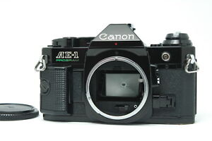 [App N MINT] Canon AE-1 Program SLR Film Camera Body Only Black from JAPAN F15