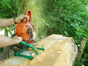 CHAINSAW MILL planking lumber boards milling vertical cut wood cutting tool