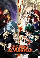 Poster A3 Boku No Hero Academia Deku Shigaraki Heroes vs League Of Villains 02