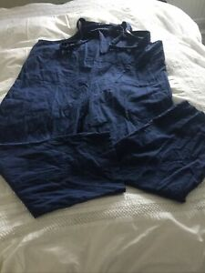 LOOSE FIT COTTON DUNGAREES SIZE XL