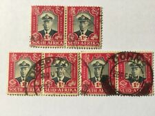 1947 South Africa Nice Stamps Pair X 3 . SC 103