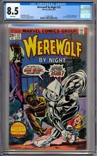 Werewolf By Night 32 CGC Graded 8.5 VF+ White 1st Moon Knight Marvel Comics 1975