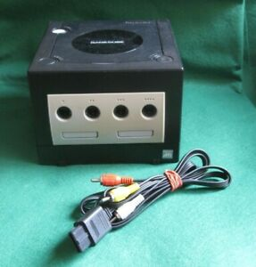 Nintendo GameCube Black Console & AV Cable
