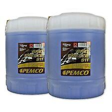 20 (2x10) Liter PEMCO ANTIFREEZE 911 Frostschutz Fertiggemisch blau (-40°C)