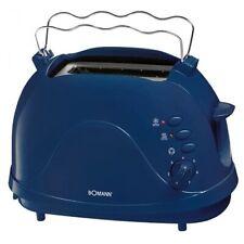 Bomann TA 246 CB Toastautomat blau, 2-Scheiben-Toaster
