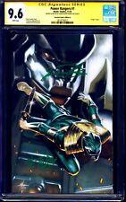 Power Rangers #1 VIRGIN VARIANT CGC SS 9.6 signed Jason David Frank JDF + KANJI