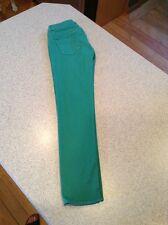 gap womens jeans green 27/4