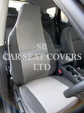 TO FIT A NISSAN ALMERA, CAR SEAT COVERS, SHEEN GREY FABRIC