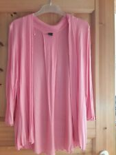 s.Oliver Damen Cardigan Strickjacke Gr.44 pink *top Zustand*