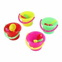 4pcs Mini Beach Toys Set Bucket Shovel Rake Beach Sand Play Toys for Kids DN